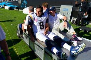 NFL: St. Louis Rams at Carolina Panthers